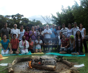 M G Satchidananda - 3rd Initiation in Brazil Nov 2012 (click image to enlarge)